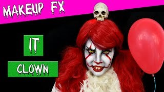 IT makeup tutorial Pennywise  clown