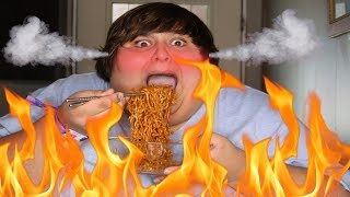 EVERYTHING WENT SO WRONG - SPICY NOODLE CHALLENGE