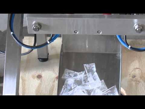 Envasadora de geladinho polpa de fruta açai cremosinho
