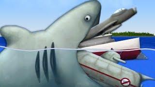 GIANT SHARK EATS HUMANITY - Tasty Planet Forever (Shark Levels)