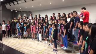 150920 HKCC Alumni Choir x Senior B - Just the Way You Are (mashup)