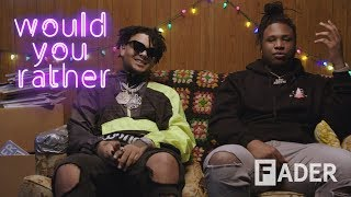 Smokepurpp and Tay Keith use time travel to secure the bag in 'Would You Rather'