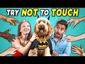 Try Not To Touch Challenge #4 | Dogs Try Cosplay (Pawsplay Edition)