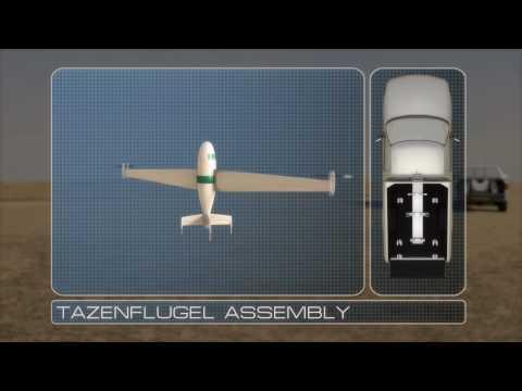 NASA Tanzenflugel VTOL UAV Concept