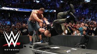 John Cena puts Baron Corbin through a table: WWE Network Exclusive, Aug. 1, 2017