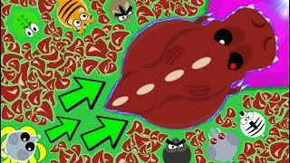 MOPE.IO MOUSE to T-REX WITH MEAT ONLY! NEW HARDEST CHALLENGE / T-REX ABILITY ARCTIC TROLLING- Mopeio