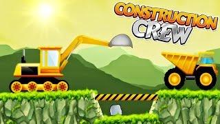 Trucks, Cranes & Diggers : Construction Crew - Building Trucks for Children | Video for Kids