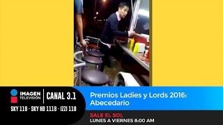 Premios Ladies y Lords 2016: Abecedario