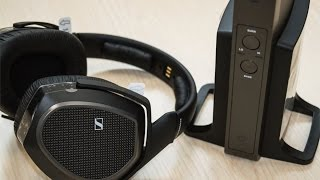 Sennheiser RS175 Closed Back Wireless TV Headphone - Unboxing & Review
