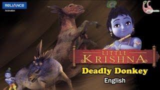Little Krishna English - Episode 7 Deadly Donkey