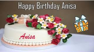 Happy Birthday Anisa Image Wishes✔