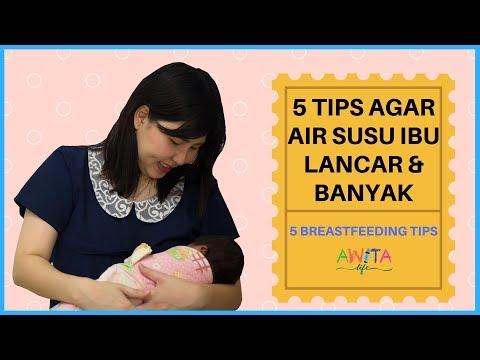 CARA AGAR ASI KELUAR BANYAK DAN LANCAR (BREASTFEEDING TIPS)