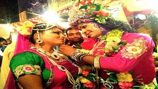 Beautiful Radha Krishna Jhanki | Gajab Kar Gayi Brij Ki Radha | Live jagran Video | Aryan And Party