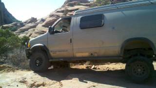 Sportmobile 4 wheelin in Moab 2011-04-16_16-25-50_464.3gp