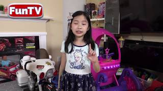 I MAILED MYSELF to Ryan ToysReview and it WORKED! Power Wheels Ride on CAR ON SALE (SKIT) - FunTV