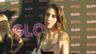 "A Netflix Original Series ""GLOW"" LA Premiere Alison Brie, Betty Gilpin, Marc Maron & cast"