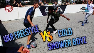 WS3s OPEN SUPERBALL | UKR FREESTYLE VS COLD SHOWER BOYZ