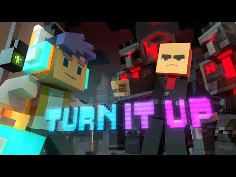 Xxx Mp4 ♪ Quot Turn It Up Quot A Minecraft Original Music Video Song ♪ 3gp Sex