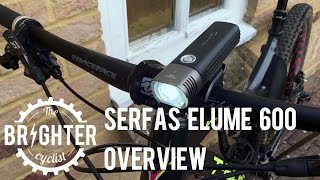 Serfas E-lume 600 commuter bike light overview
