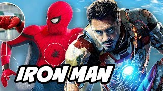 Spider Man Homecoming New Iron Man Suit and Set Visit Breakdown
