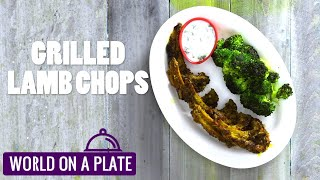How to make Grilled Lamb Chops | World on a Plate | Manorama Online Recipe