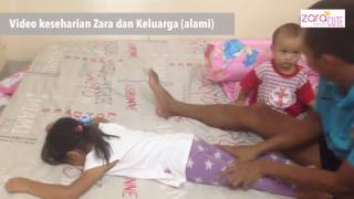 Reality - Adik Bayi (kenzo) suka banget dipijit papa - lucu gemes 😍😍😍