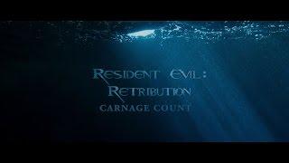 Resident Evil: Retribution (2012) Carnage Count