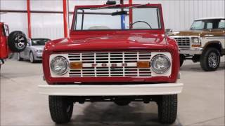 1969 Ford Bronco Red2
