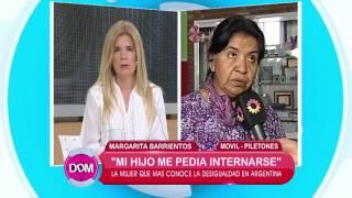 Margarita Barrientos habla sobre la adicción de su hijo
