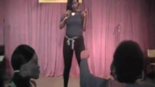 JazzieJ Female Rapper (Raw Un-Cut Video) Austin, Tx so Live