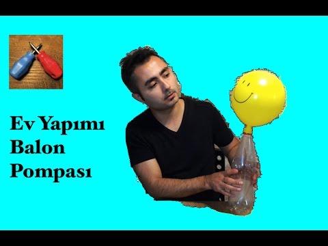 Pet Şişeden Pompa Nasıl Yapılır ? Ev Yapımı Pompa