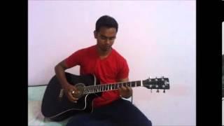 kabhi jo badal barse guitar lead by yugal sahu