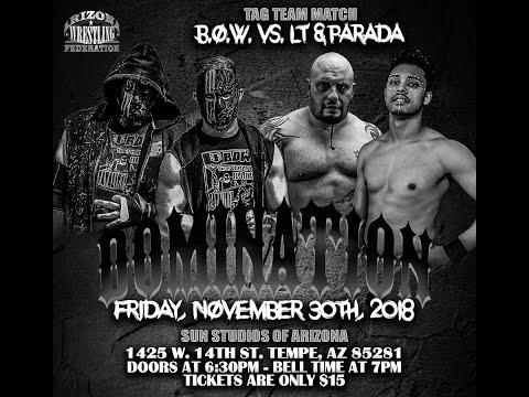 AWF Domination 11/30/2018