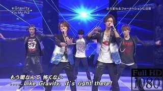 Kis-My-Ft2 - Gravity@ベストヒット歌謡祭2016 【1080p 60fps】 / Gravity