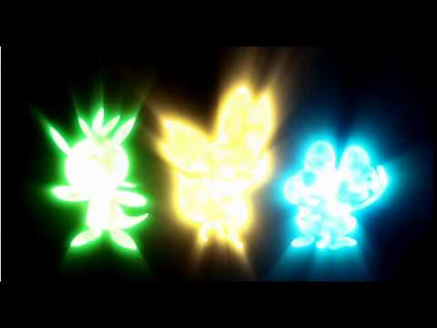 Pokemon X & Pokemon Y Gameplay Footage Nintendo 3DS