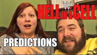 GRIM VS HEEL WIFE WWE HELL IN A CELL PREDICTIONS Full Show Preview!