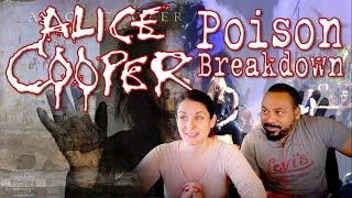 ALICE COOPER Poison Reaction!!!