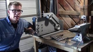 The Ultimate DIY Belt Grinder| Iron Wolf Industrial