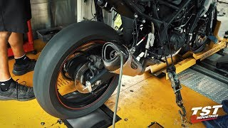 Dyno Sound Clip : Yamaha R3 Superbike Yoshimura ALPHA-T Full Exhaust
