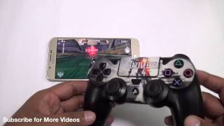 How to Connect PS4 controller to an Android Smartphone for playing games