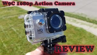 W9C 1080P WiFi Action Camera REVIEW & Sample Recordings