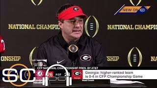 Kirby Smart gets emotional after Georgia