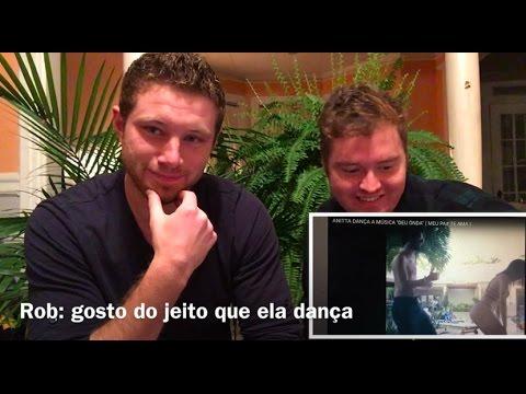 Gringos reagem a Anitta Dançando (Deu