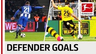 Top 10 Defender Goals 2016/17 Season - Rockets and Wonder Goals from Sokratis, Alaba, Süle & Co.
