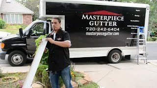 Gutters Denver | Seamless Gutters Denver | Masterpiece Gutter Cares for your Home