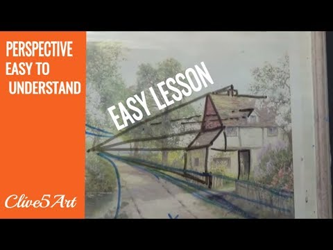 Xxx Mp4 PERSPECTIVE Acrylic Painting For Beginners Clive5art 3gp Sex