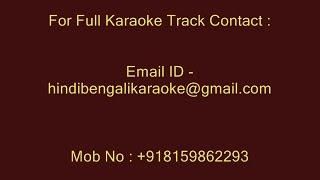 Yeh Wohi Geet Hai Jisko Maine - Karaoke - Kishore Kumar - Maan Jaiye (1972)
