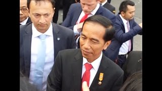 President Jokowi di Belanda