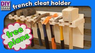 hammer rack - FREE PLAN DOWNLOAD - Hammer Halter