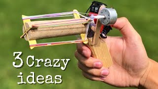 3 Crazy Life Hacks and incredible ideas for Fun